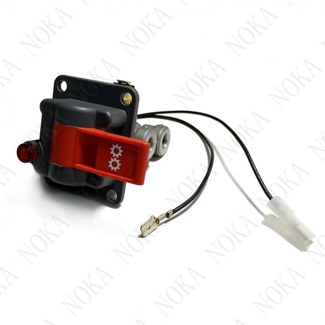 Клапан пневматический одноканальный с контрольной лампочкой включения