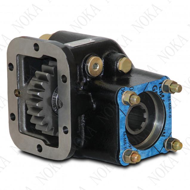 Коробка отбора мощности МАЗ 236; ISO; пневматическое управление