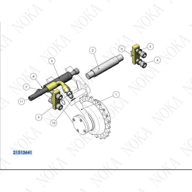 21513641 Механизм измерения длины