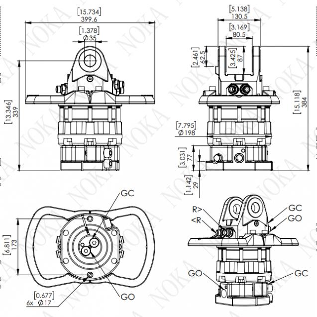 Ротатор CRH 800-X35F173