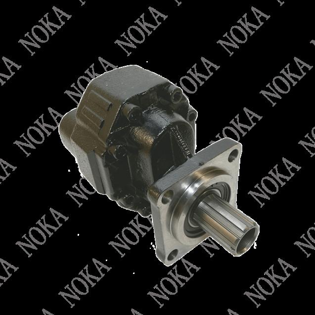 B34T38 Насос шестеренный 38 см3 ISO реверсивный; 4 болта; подключ. сзади