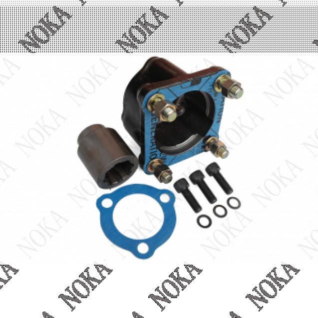 Адаптер приводной (переход с UNI 3 отв. на 4 отв. ISO)